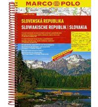 Reise- und Straßenatlanten MARCO POLO Reiseatlas Slowakische Republik 1:200 000 Mairs Geographischer Verlag Kurt Mair GmbH. & Co.