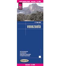 Straßenkarten Reise Know-How Landkarte Venezuela (1:1.400.000) Reise Know-How
