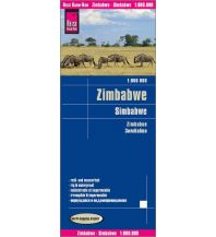 Straßenkarten Afrika Reise Know-How Landkarte Simbabwe (1:800.000) Reise Know-How