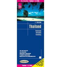 Straßenkarten Reise Know-How Landkarte Thailand (1:1.200.000) Reise Know-How