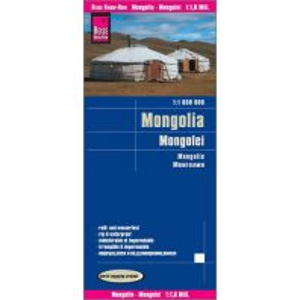 Straßenkarten Asien World Mapping Project Reise Know-How Landkarte Mongolei (1:1.600.000) Reise Know-How