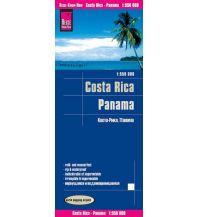 Straßenkarten Reise Know-How Landkarte Costa Rica, Panama (1:550.000) Reise Know-How