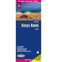 Straßenkarten Reise Know-How Landkarte Kenia (1:950.000) Reise Know-How