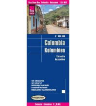 Straßenkarten World Mapping Project Reise Know-How Landkarte Kolumbien (1:1.400.000). Colombia / Colombie Reise Know-How