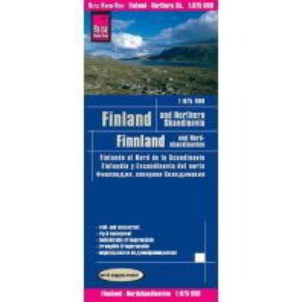 Straßenkarten World Mapping Project Reise Know-How Landkarte Finnland und Nordskandinavien (1:875.000). Finland & Northern Scandinavia / Finlande et nord de la Scandinavie / Finlandia y Escandinavia del norte Reise Know-How