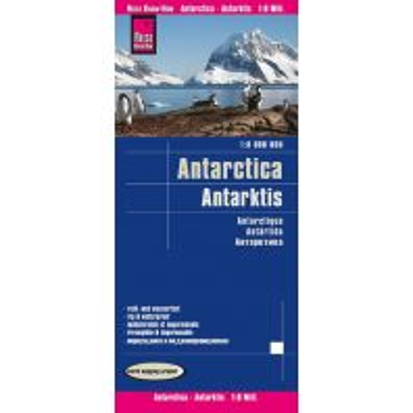 Reise Know-How Landkarte Antarktis / Antarctica (1:8.000.000) Reise Know-How