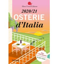 Hotel- und Restaurantführer Osterie d'Italia 2020 / 21 Hallwag Verlag Buchsortiment