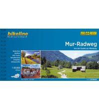 Radführer Bikeline-Radtourenbuch Mur-Radweg 1:50.000 Verlag Esterbauer GmbH