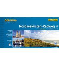 Radführer Bikeline-Radtourenbuch Nordseeküsten-Radweg, Teil 4, 1:75.000 Verlag Esterbauer GmbH