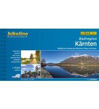 Radführer Bikeline-Radtourenbuch Radregion Kärnten 1:75.000 Verlag Esterbauer GmbH