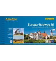 Radführer Bikeline-Radtourenbuch Europa-Radweg R1, 1:75.000 Verlag Esterbauer GmbH
