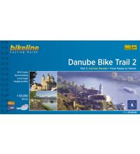 Radführer Bikeline Cycling Guide Danube Bike Trail 2, 1:50.000 Verlag Esterbauer GmbH