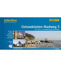 Radführer Bikeline-Radtourenbuch Ostseeküsten-Radweg Teil 3, 1:75.000 Verlag Esterbauer GmbH