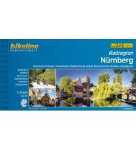 Radführer Bikeline-Radtourenbuch Radregion Nürnberg 1:75.000 Verlag Esterbauer GmbH