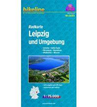 Radkarten Bikeline-Radkarte RK-SAX01, Leipzig und Umgebung 1:75.000 Verlag Esterbauer GmbH