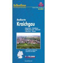 Radkarten Bikeline-Radkarte RK-BW03, Kraichgau 1:75.000 Verlag Esterbauer GmbH