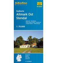 Radkarten Bikeline-Radkarte RK-SAA02, Altmark Ost, Stendal 1:75.000 Verlag Esterbauer GmbH