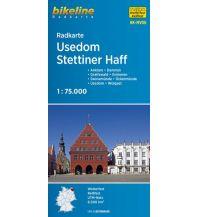 Radkarten Bikeline-Radkarte RK-MV06, Usedom, Stettiner Haff 1:75.000 Verlag Esterbauer GmbH