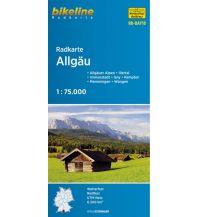 Radkarten Bikeline-Radkarte RK-BAY18, Allgäu 1:75.000 Verlag Esterbauer GmbH