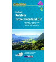 Mountainbike-Touren - Mountainbikekarten Bikeline-Radkarte RK-A13, Kufstein, Tiroler Unterland Ost 1:75.000 Verlag Esterbauer GmbH