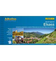 Radführer Bikeline-Radtourenbuch - Radregion Elsass 1:75.000 Verlag Esterbauer GmbH