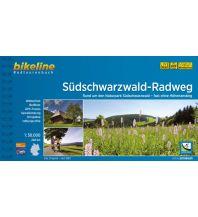 Radführer Bikeline-Radtourenbuch Südschwarzwald-Radweg 1:50.000 Verlag Esterbauer GmbH