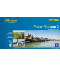 Radführer Bikeline-Radtourenbuch Rhein-Radweg Teil 2, 1:75.000 Verlag Esterbauer GmbH