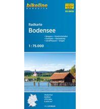 Radkarten Bikeline-Radkarte RK-BW08, Bodensee 1:75.000 Verlag Esterbauer GmbH