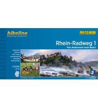 Radführer Bikeline-Radtourenbuch Rhein-Radweg Teil 1, 1:50.000 Verlag Esterbauer GmbH