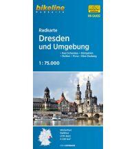 Radkarten Bikeline-Radkarte RK-SAX02, Dresden und Umgebung 1:75.000 Verlag Esterbauer GmbH