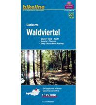 Radkarten Bikeline-Radkarte RK-A03, Waldviertel 1:75.000 Verlag Esterbauer GmbH
