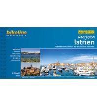 Radführer Bikeline-Radtourenbuch Radregion Istrien 1:75.000 Verlag Esterbauer GmbH