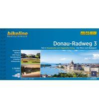 Radführer Bikeline-Radtourenbuch Donau-Radweg Teil 3, 1:75.000 Verlag Esterbauer GmbH