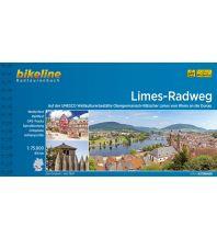 Radführer Bikeline-Radtourenbuch Limes-Radweg 1:75.000 Verlag Esterbauer GmbH