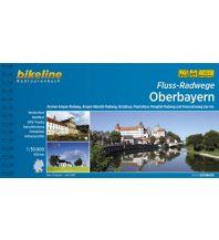 Radführer Bikeline-Radtourenbuch Fluss-Radwege Oberbayern 1:50.000 Verlag Esterbauer GmbH