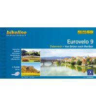Radführer Bikeline-Radtourenbuch Eurovelo 9, 1:75.000 Verlag Esterbauer GmbH