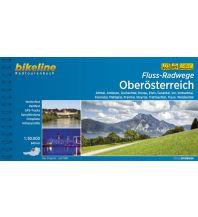 Radführer Bikeline-Radtourenbuch Fluss-Radwege Oberösterreich 1:50.000 Verlag Esterbauer GmbH
