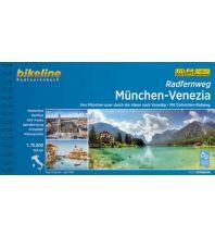 Radführer Bikeline-Radtourenbuch Radfernweg München - Venedig/Venezia 1:75.000 Verlag Esterbauer GmbH