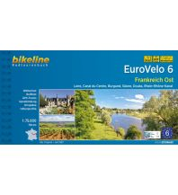 Radführer Bikeline-Radtourenbuch Eurovelo 6, Frankreich Ost 1:75.000 Verlag Esterbauer GmbH