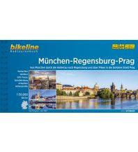 Radführer Bikeline-Radtourenbuch Radfernweg München-Regensburg-Prag 1:50.000 Verlag Esterbauer GmbH