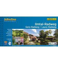Radführer Bikeline-Radtourenbuch Ilmtal-Radweg, Gera-Radweg, Laura-Radweg 1:50.000 Verlag Esterbauer GmbH