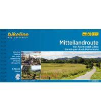 Radführer Bikeline-Radtourenbuch Mittellandroute 1:75.000 Verlag Esterbauer GmbH