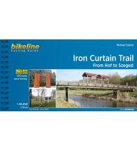 Radführer Bikeline-Radtourenbuch Iron Curtain Trail 1:85.000 Verlag Esterbauer GmbH