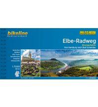 Radführer Bikeline-Radtourenbuch Elbe-Radweg stromaufwärts 1:75.000 Verlag Esterbauer GmbH