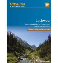 Weitwandern Hikeline-Wanderführer Lechweg 1:35.000 Verlag Esterbauer GmbH