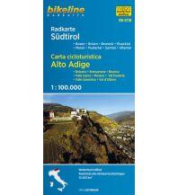 Radkarten Bikeline-Radkarte RK-STIR, Südtirol 1:100.000 Verlag Esterbauer GmbH