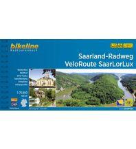Radführer Bikeline-Radtourenbuch Saarland-Radweg, VeloRoute SaarLorLux 1:75.000 Verlag Esterbauer GmbH
