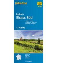 Radkarten Bikeline-Radkarte RK-ELSS, Elsass Süd 1:75.000 Verlag Esterbauer GmbH