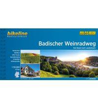 Radführer Bikeline-Radtourenbuch Badischer Weinradweg 1:50.000 Verlag Esterbauer GmbH