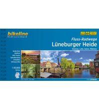 Radführer Bikeline-Radtourenbuch Fluss-Radwege Lüneburger Heide 1:50.000 Verlag Esterbauer GmbH